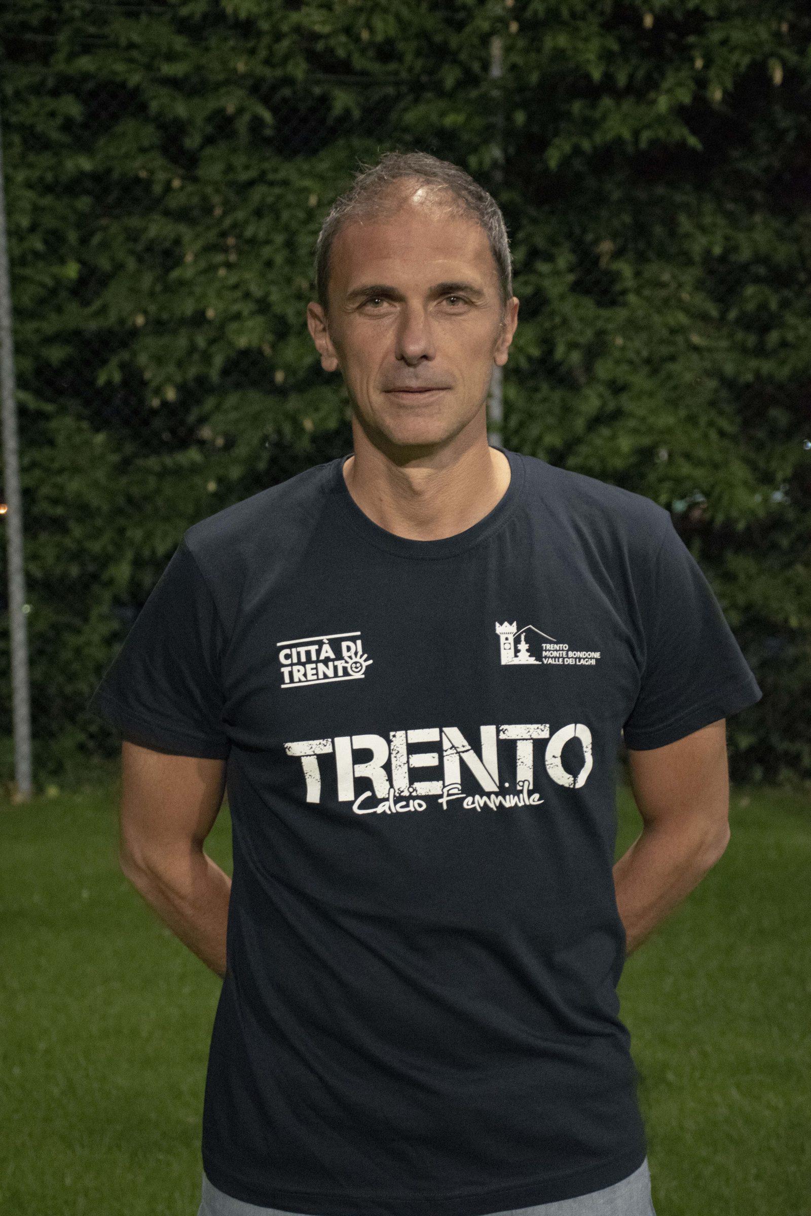 Massimo Spagnolli è il nuovo allenatore dell Trento Calcio Femminile