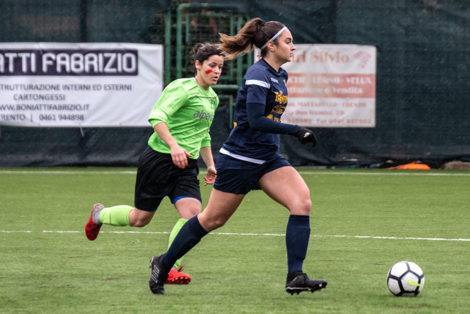 Trento vs Unterland Damen_Coppa Italia