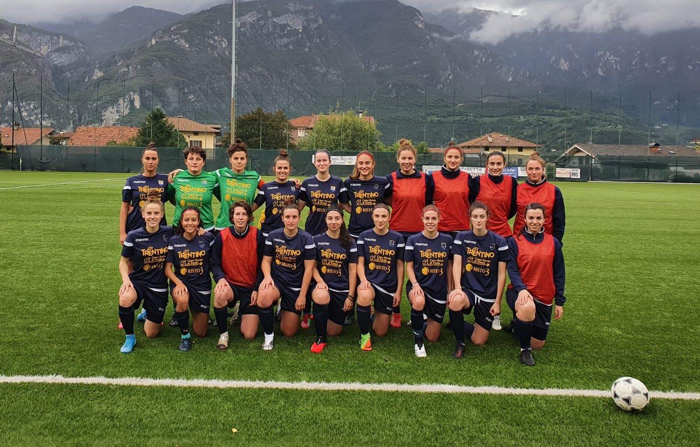 Coppa Italia, Trento calcio femminile vs Brixen Obi