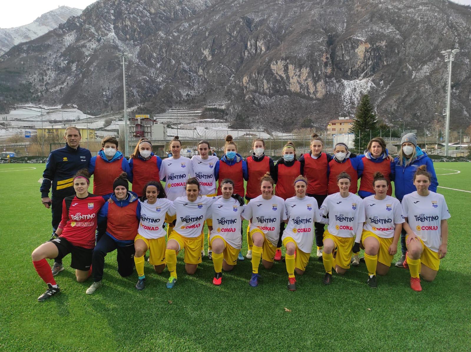 Trento calcio femminile vs Le Torri FC