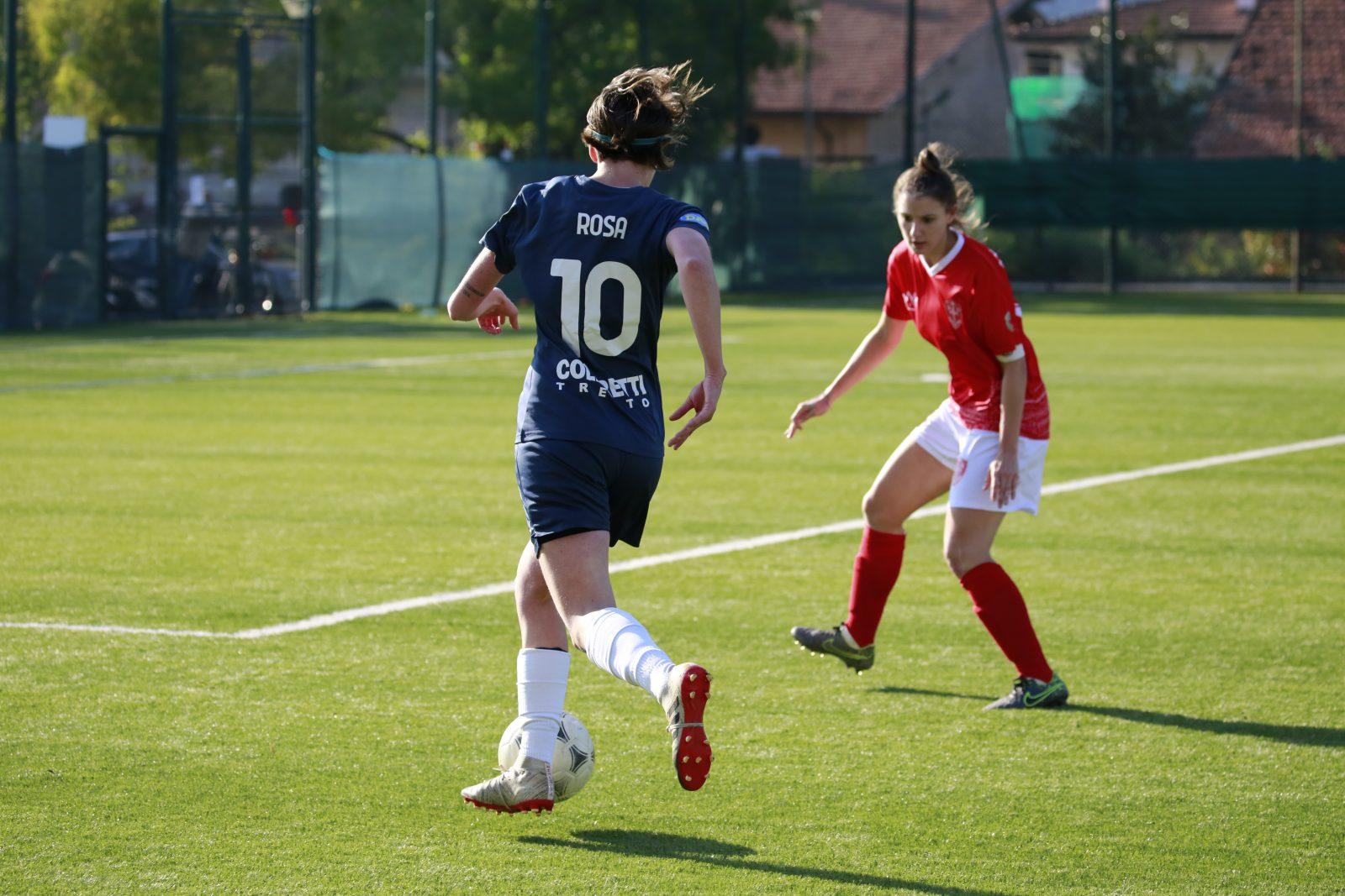 Giulia Rosa-Trento Calcio Femminile vs Triestina