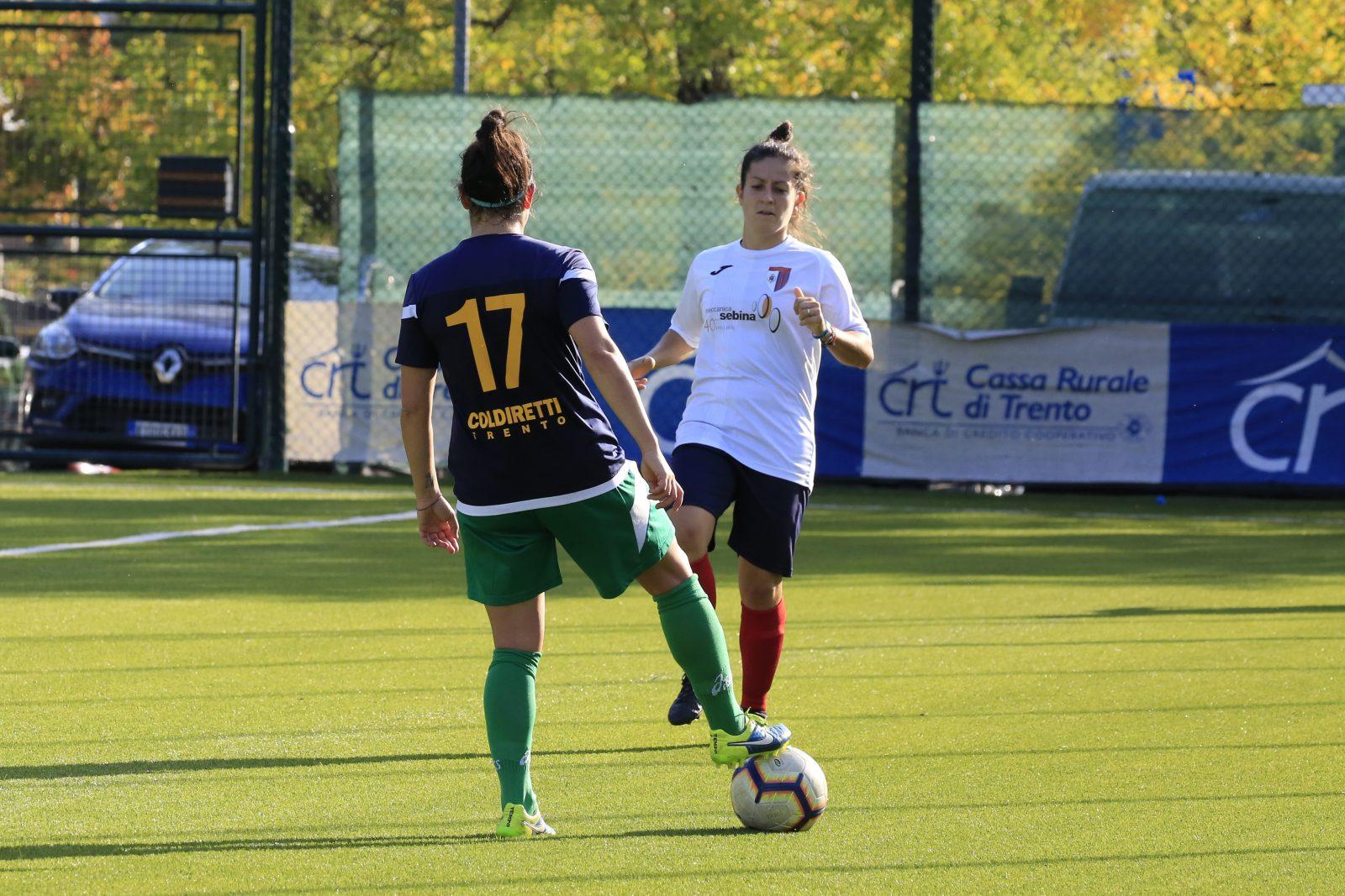 Alessandra Tonelli - Trento calcio femminile vs Cortefranca