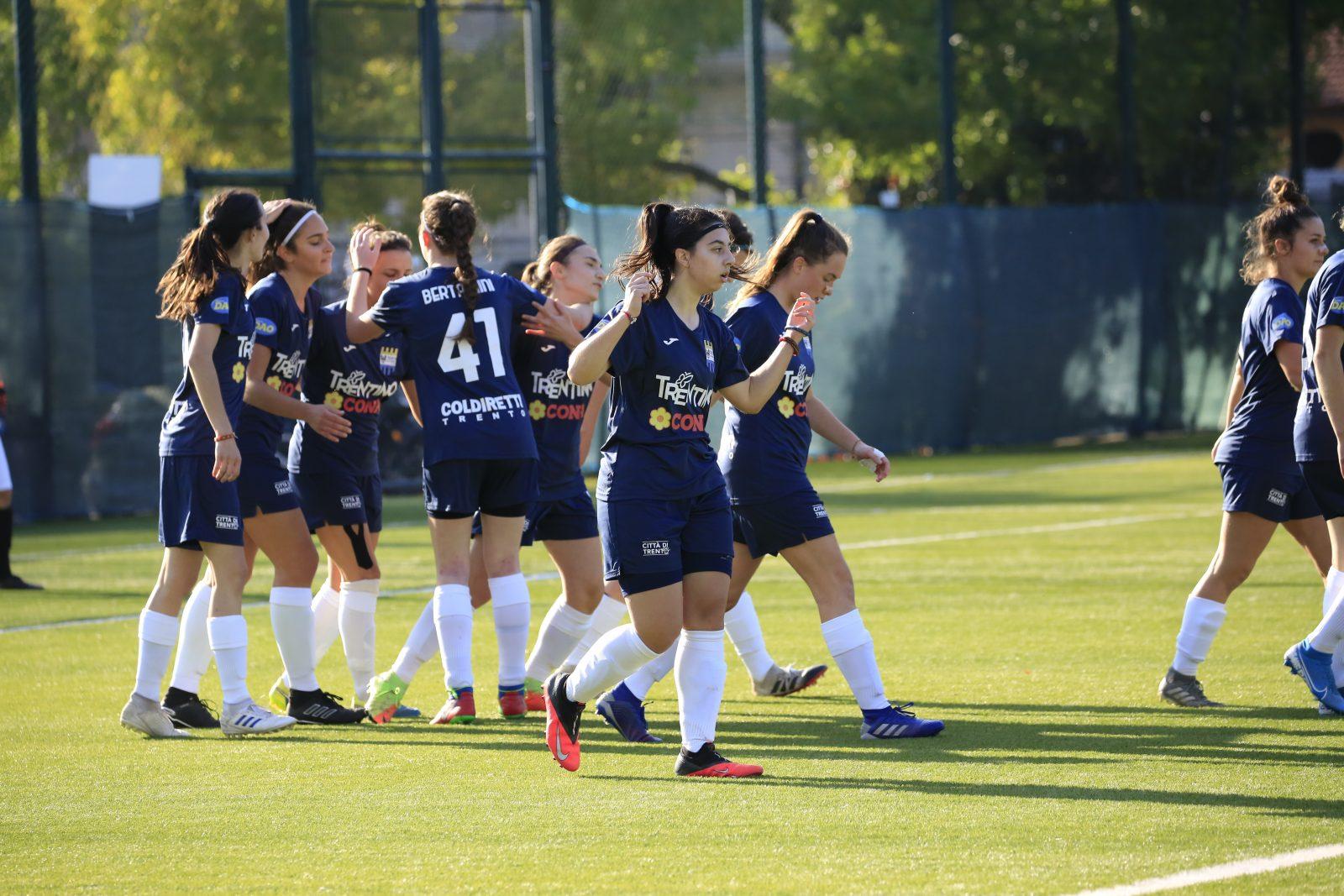 Trento Calcio Femminile-gol